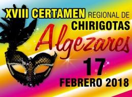 XVIII CERTAMEN DE CHIRIGOTAS DE ALGEZARES
