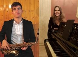 VICENT OR�N BOL�S: SAXOF�N / SELENA CANCINO ESCOBAR: PIANO