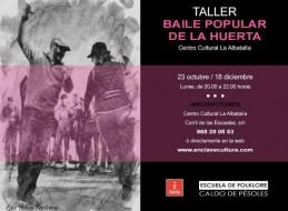 TALLER DE BAILE POPULAR DE LA HUERTA