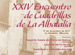 XXIV ENCUENTRO DE CUADRILLAS DE LA ALBATALÍA