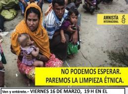 AMNISTÍA INTERNACIONAL DE MURCIA CON EL PUEBLO ROHINGYA