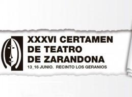 XXXVI CERTAMEN DE TEATRO DE ZARANDONA