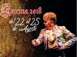 XII FESTIVAL DE JÓVENES FLAMENCOS DE FLAMENCO VA. SUCINA DEL 22 AL 25 DE AGOSTO DE 2018
