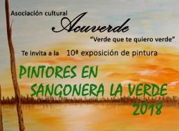 DÉCIMA EDICIÓN DE LA EXPOSICIÓN PINTORES DE SANGONERA LA VERDE