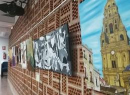 EXPOSICIÓN DE TRABAJOS DE FIN DE CURSO EN SANGONERA LA SECA