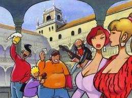 TALLER DE COMIC CON JUAN ÁLVAREZ Y JORGE GÓMEZ EN SANTIAGO Y ZARAICHE