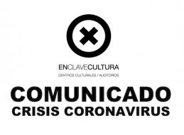 APLAZADAS LAS ACTIVIDADES EN CENTROS CULTURALES Y AUDITORIOS MUNICIPALES / ENTRE EL 13 DE MARZO Y 20 DE ABRIL
