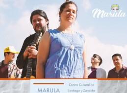 MARULA ABRE UNA NUEVA EDICIÓN DE LOS MARTES MÚSICA
