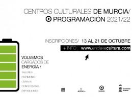 NUEVA OFERTA DE CURSOS Y TALLERES PRESENCIALES EN LOS CENTROS CULTURALES