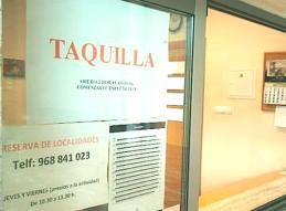 RESERVA TELEFONICA DE ENTRADAS PARA LOS AUDITORIOS MUNICIPALES