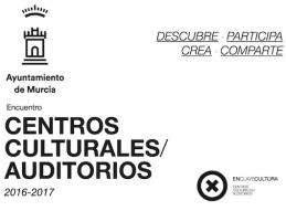 ENCUENTRO CENTROS CULTURALES / AUDITORIOS EL SÁBADO 5 DE NOVIEMBRE EN LA PLAZA BELLUGA DE 10 H. A 14 H.