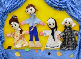 Manualidades Infantiles: Creación, manipulación y representacion de marionetas
