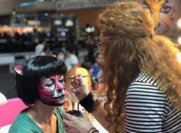Taller intensivo de caracterización y maquillaje de Carnaval